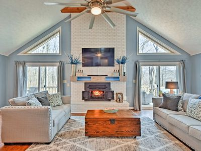 Photo for Exceptional Home on Lake Barkley w/Fire Pit & Bar!