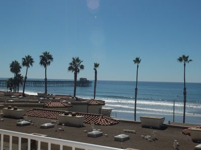 Photo for Two Bedroom Beach Condo Just Steps Away From The Sand.