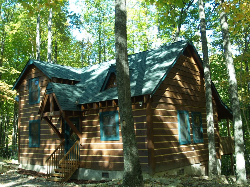 Perfect cabin retreat forest and mountain views and for Perfect cabin