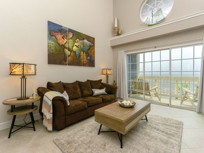 Photo for NEW! Beachfront loft - all new and fresh! Forth unit of established owner.