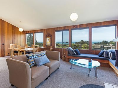 Photo for Meadow Getaway with Private Hot Tub, Walking Distance to Shell Beach & Tide Pool Beach- Shining Sea
