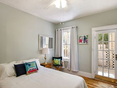 Photo for Eclectic Tybee Getaway! 400 Feet to the Beach, Free Parking + Wifi
