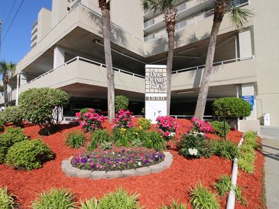 Photo for One Ocean Place 203 - Fantastic two-bedroom, two-bath oceanfront condo in GCB