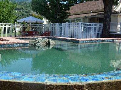 Photo for Ammon Ranch House - Walk to River, Swim in Infinity Pool, Soak in Hot Tub!