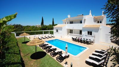 Photo for Large villa, private pool & garden, barbeque, games room, AC,WiFi