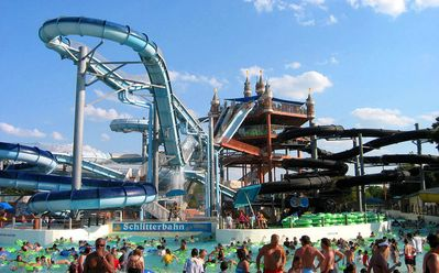 Schlitterbahn!!! #1 Waterpark in the USA!! It's right across street from Condo!