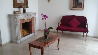 Photo for Holiday Apartment Roma view of St. Peter's Basilica just 50m from the Metro A