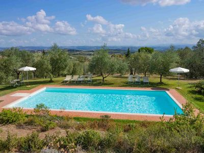 Photo for Proga - San Gimignano apartment. Very special place. Pool. View. WIFI gratis.