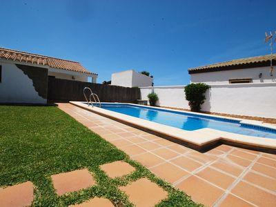 Photo for Houses with pool in Roches at 1500 m. of the beach