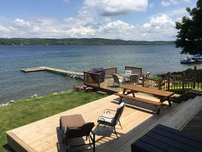 Photo for Beautiful Lake Charlevoix Lakefront Getaway!  Toys, Kayaks And All You Need!