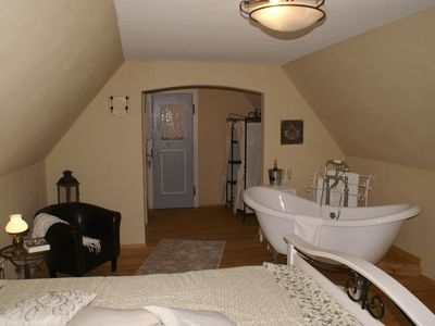Photo for Comfortable apartment in vintage style on the Mehlinger Heide