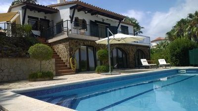 Photo for Villa with spectacular sea view in Platja D´Aro