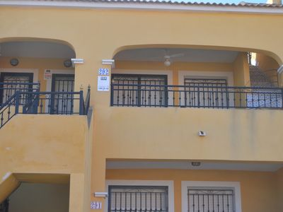 Photo for First floor 2 bed apartment, English Tv, WiFi ,Quiet Location, Shared Pool