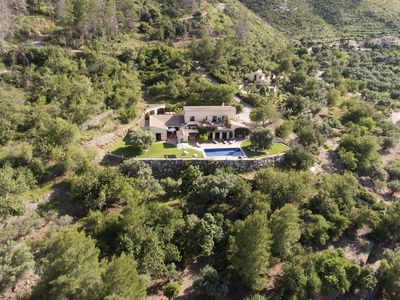 Photo for Luxury Villa in Natural Park Overlooking Nature & Sea