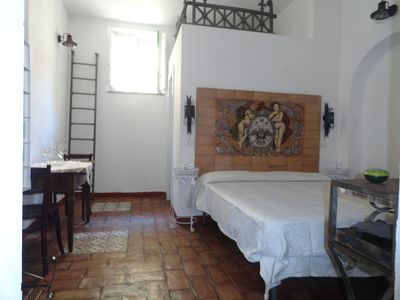 Photo for independent apartment b & b santa maria of the bearded (vestry)