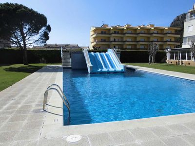 Photo for Apartment with free Wifi and swimming pool with slides