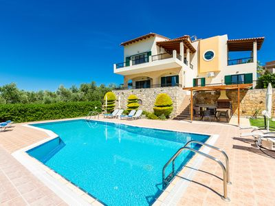 Photo for Villa Harmony, mesmeric green views! Close to Rethymno town!