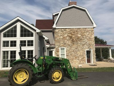 John Deere by Farmhouse