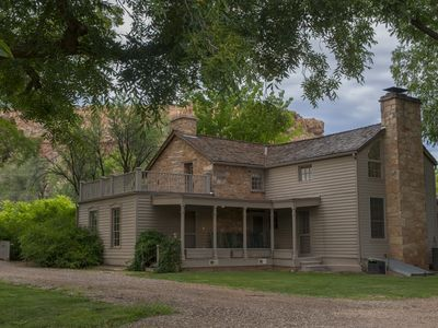 Photo for 150 year old Restored French Farm House- Gateway to Zion National Park