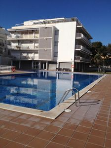 Photo for New apartment in the centre of Sitges, WiFi, swimming pool, balcony, parking
