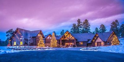 Photo for Whispering Pines Lodge: 6 BR / 5 BA executive home in Pagosa Springs, Sleeps 14