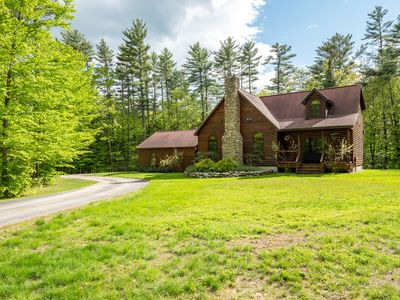 Photo for NEW LISTING! A hidden gem nestled under tall pines!