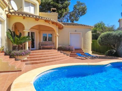 Photo for Club Villamar - Beautifull villa in a quiet urban in Moraira with a private pool and airconditioning