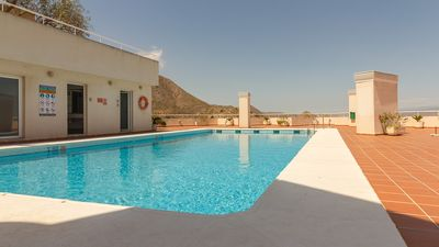 Photo for Mojacar Pueblo - Apartment with pool