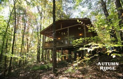 Photo for Are you looking for that wonderful cabin in the woods feeling? Well here it is! Autumn Ridge is a 1