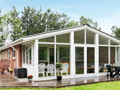 Photo for Modern Holiday Home in Jerup Denmark with Garden