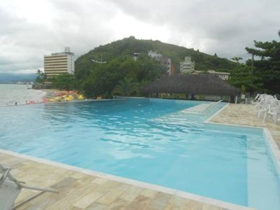 Photo for Apt in Prainha, 2 bed, sea view, walk in sand, up to 6 people, swimming pool