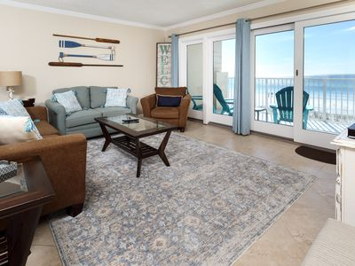 Photo for Gulfside 302:SOPHISTICATED GULF FRONT with UNBELIEVABLE VIEWS and FREE EXTRAS