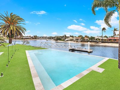 Photo for Waterfront 4 bedroom house with new Pool