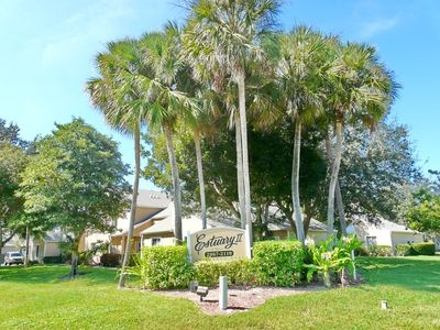 Photo for Quiet, relaxing condo w/ heated pool just a short drive from the beach