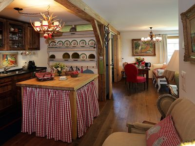 Photo for Charming Apartment In Traditional Chalet, Part- Or Full Catering Option