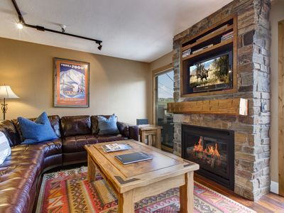 Photo for Amazing Location! Old Town Condo Walking Distance to Slopes and Main St!