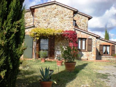 Photo for Lovely Country House surrounded by an Olive Grove with 360° view
