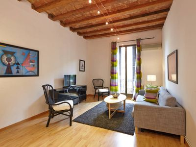 Photo for Valencia Stylish and spacious  two bedroom apartment in the heart of Eixample
