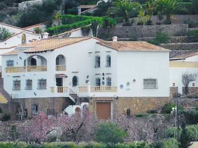 Photo for Benidoleig, Luxury secluded villa with panoramic view valley, mountains, sea