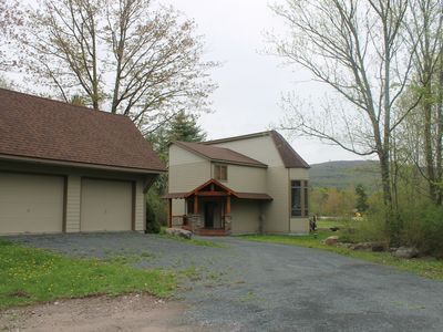 Photo for Spectacular Family Home with Magnificent Views of Windham's Slopes