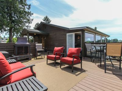 Photo for Waterfront home with stunning natural views and private hot tub!