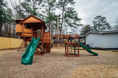 Kids will love this jungle gym