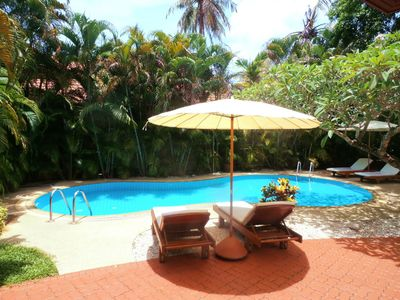 Photo for TROPICAL VIP 2 BEDROOM POOL VILLA Set In Beautiful Lush Tropical Gardens