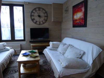 Photo for Beautiful apartment of 4 rooms + terraces + garage closed snow front