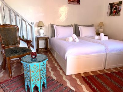 Photo for LUXURY ROOM 2 BEDS --RIAD KOUTOUBUA ROYAL-- MARRAKECH