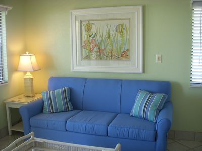 Photo for Views, Views! Direct Gulf Front! Book Spring/Summer, 1 BD sleeps 4, 6 pools,