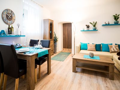 Photo for Vacation Home close to Prague Castle, FREE WiFi, Terrace and Garden