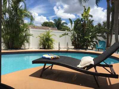 Contactless check in !! Paradise Retreat  with  HEATED POOL-- Need We Say More