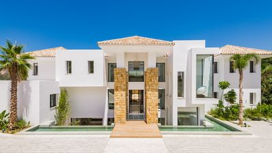 Photo for SPECTACULAR  STATE OF THE ART BRAND NEW 8 BED VILLA IN EUROPE'S FINEST RESORT