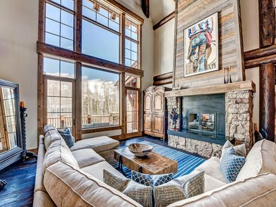 Photo for Luxury 7 Bedroom Bachelor Gulch Estate with Theater, Fitness, Massage Room